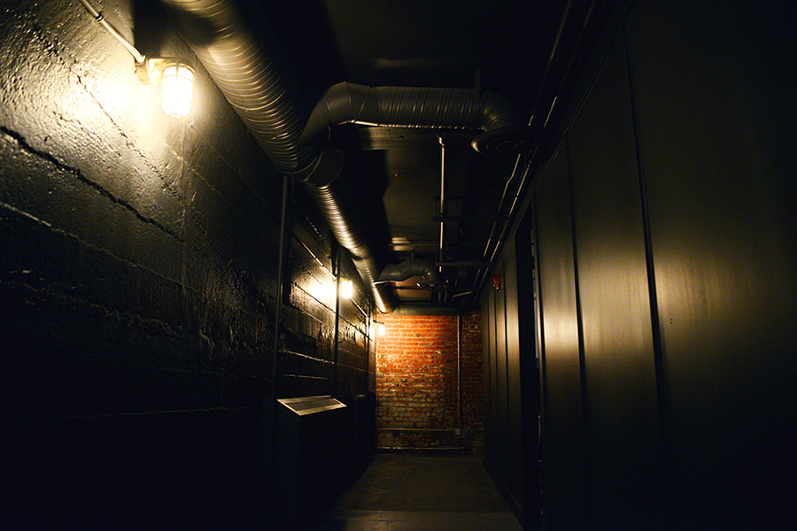 Image of hallways in Amaze Calgary Escape Room Game Locked